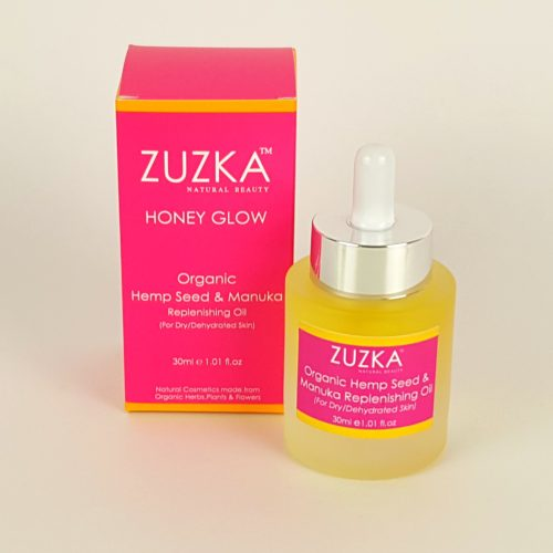 Zuzka Organic Hempseed & Manuka Oil with Box