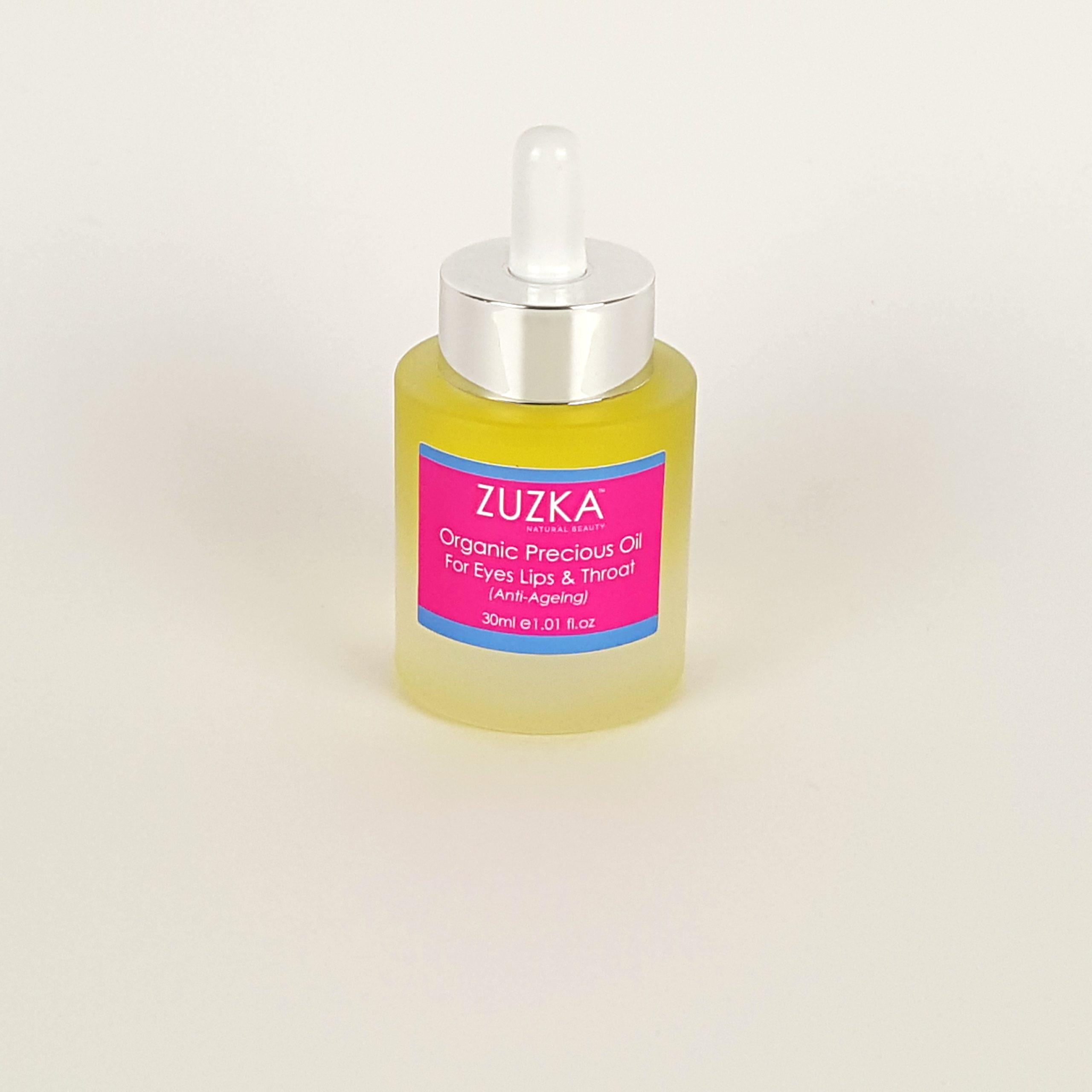 Zuzka Organic Oil for Eyes Lip & Throat