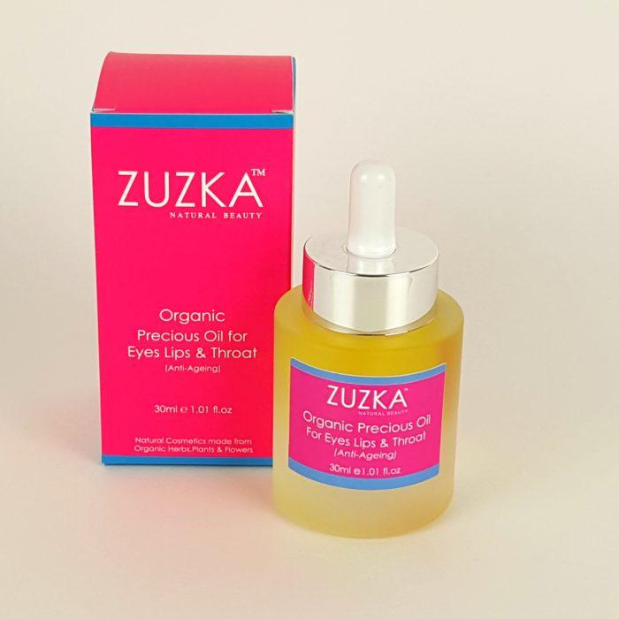 Zuzka Organic Oil for Eyes Lip & Throat with Box
