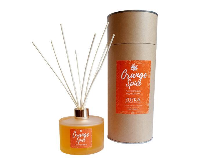 orange-spice-natural reed deffuser
