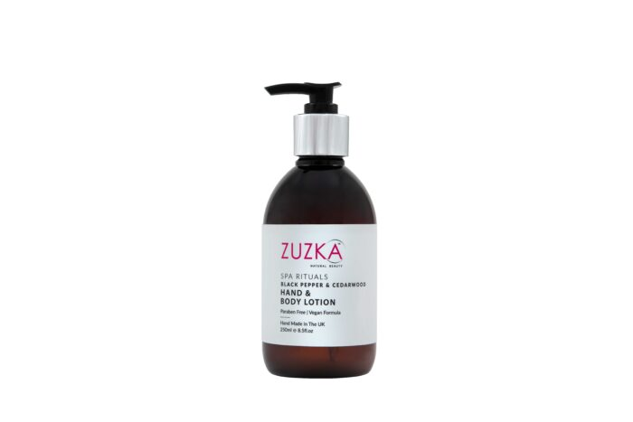 Zuzka-Spa-Rituals-Black-Pepper & Cedarwood-Hand & Body-Lotion-250ml