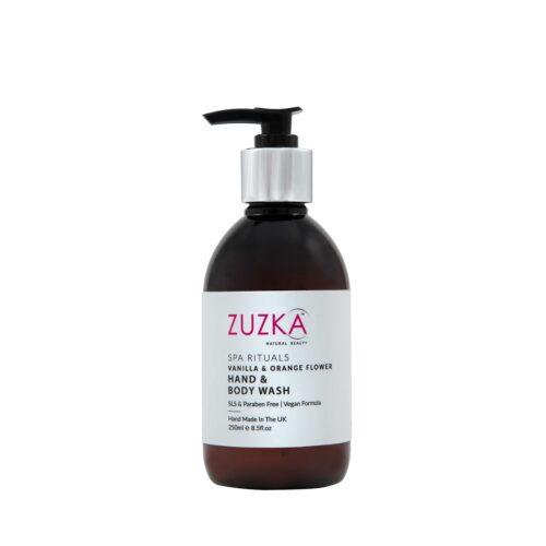 Zuzka Spa Rituals Vanilla & Orange Flower SLS Free Hand & Body Wash 250ml