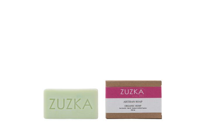 Zuzka-Artisan-Soap-Organic-Hemp with Box