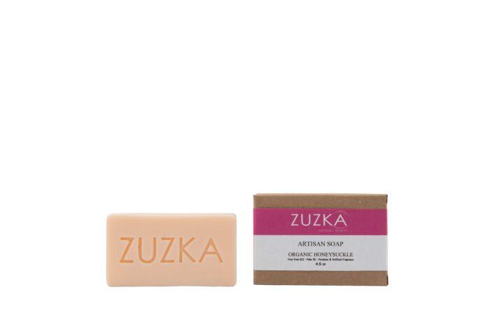 Zuzka-Artisan-Soap-Organic-Honeysuckle with Box