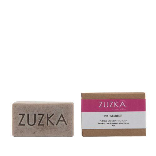 Zuzka-Bio-Marine-Pumice-Exfoliating-Soap with Box