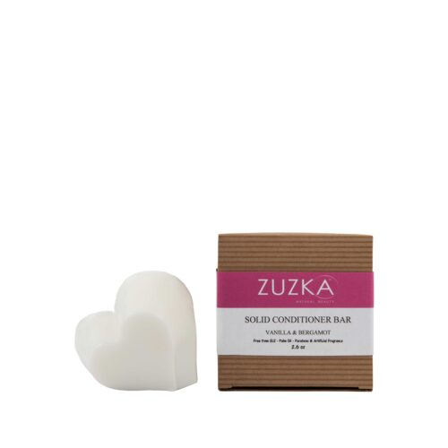 Zuzka Spa Rituals Vanilla & Bergamot Solid Hair Conditioning Bar