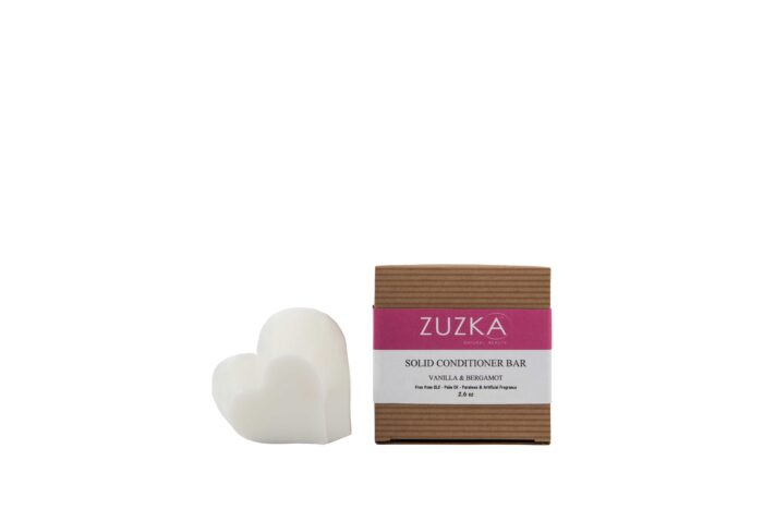 Zuzka Spa Rituals Vanilla & Bergamot Solid Hair Conditioning Bar